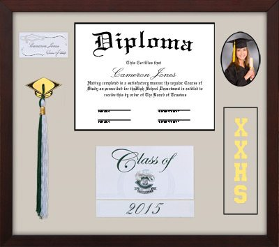 Shadow Box Tassel Memory Frame | Frames of Achievement
