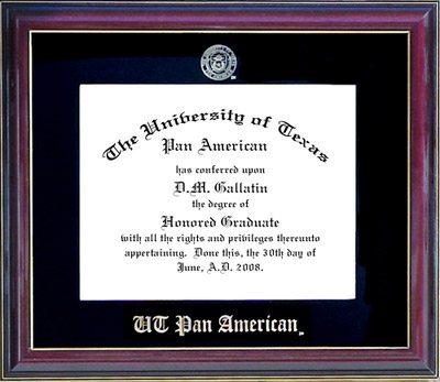 UT-Pan American Essential Diploma Frame