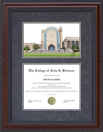 Abilene Christian University (ACU) Lithograph