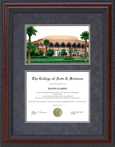 Arizona State University (ASU) Campus Lithograph
