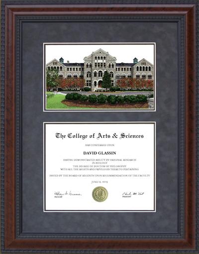 Catholic University of America (CUA) Lithograph