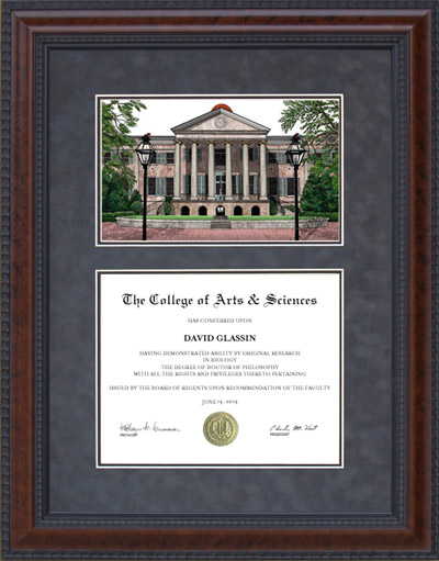 College of Charleston (C of C) Campus Lithograph