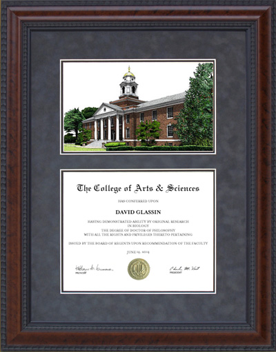 Clark Atlanta University (CAU) Campus Lithograph
