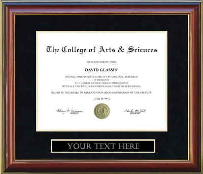 Customizable Diploma Frame | Frames of Achievement
