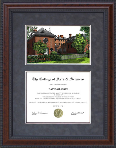 College of William and Mary Campus Lithograph