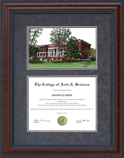 Georgia College and State (GCSU) Campus Lithograph