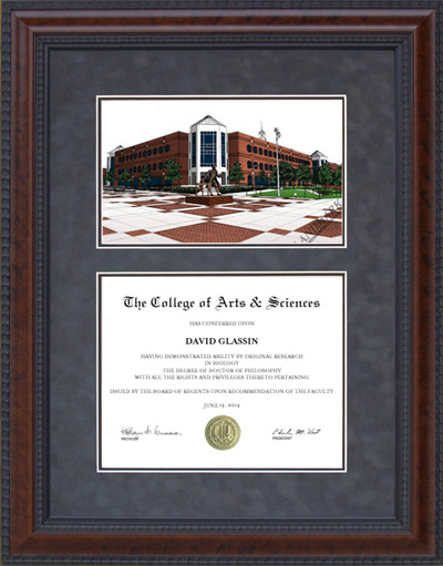 George Mason University (GMU) Campus Lithograph