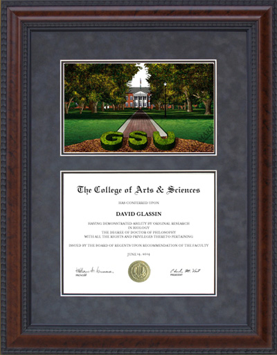 Georgia Southern University Campus Lithograph