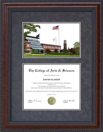 Grand Valley State University (GVSU) Lithograph