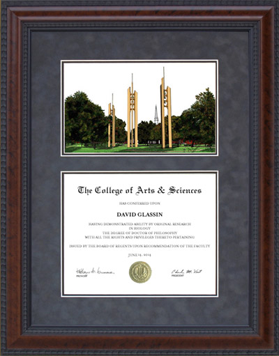 Howard Payne University (HPU) Campus Lithograph