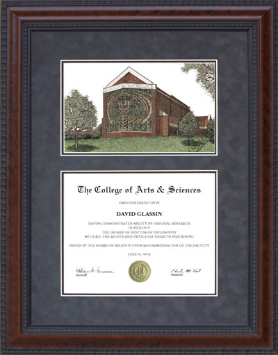Hardin-Simmons University (HSU) Campus Lithograph