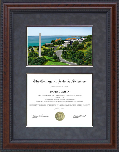 Pepperdine Campus Lithograph