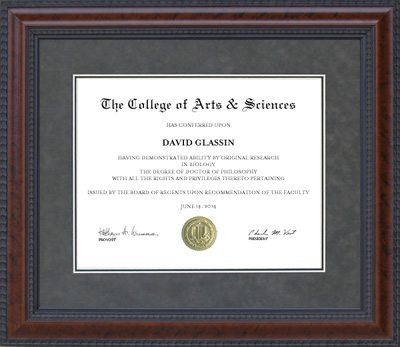 Burl Hardwood Designer Diploma Frame | Frames of Achievement