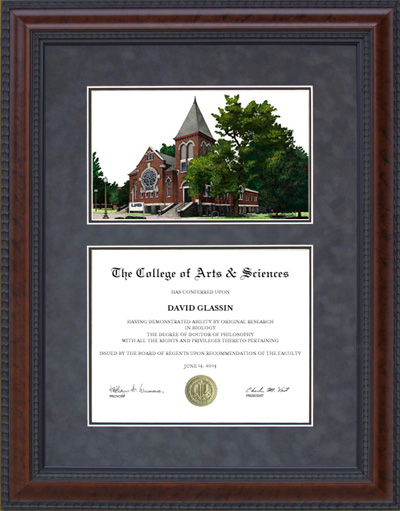 University of Alabama, Birmingham (UAB) Diploma Frame