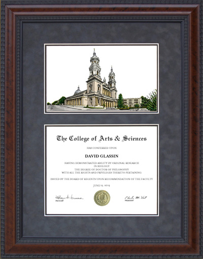 University of San Francisco (USF) Campus Lithograph