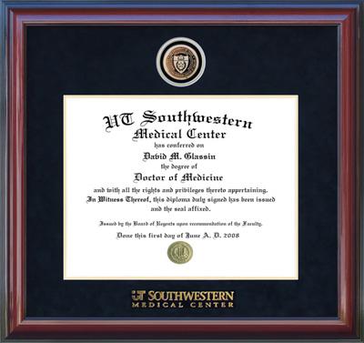 UT Southwestern Medical Center Medallion Frame
